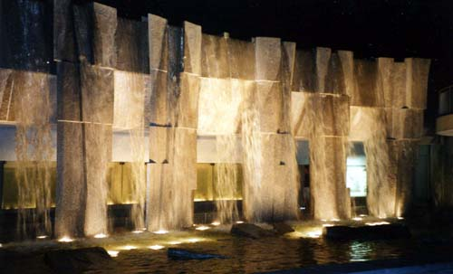 Fountain at Yerba Buena Center in San Francisco